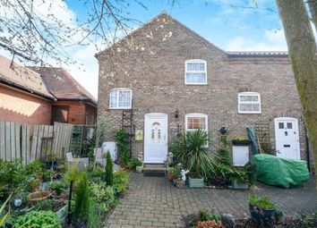 Thumbnail 2 bed terraced house for sale in Smithy Yard, Wragby, Market Rasen, Lincolnshire