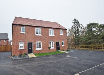 Thumbnail 3 bed semi-detached house for sale in Birch Close, Aslakr Park, Aslockton