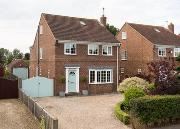 Thumbnail 5 bed detached house for sale in Station Lane, Shipton By Beningbrough, York