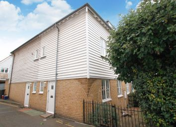 Thumbnail 3 bed end terrace house to rent in The Slipway, Sea Wall, Whitstable