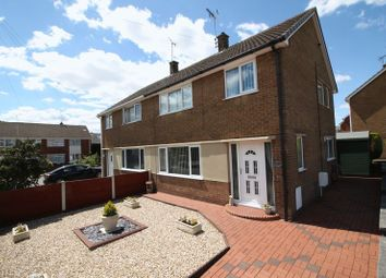 Thumbnail 3 bedroom semi-detached house for sale in Hawthorn Close, Ollerton, Newark