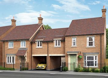 "Thumbnail 3 bed link-detached house for sale in ""The Chillingham"" at Grange Road, Hugglescote, Coalville"