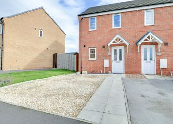 Thumbnail 2 bed semi-detached house for sale in Brambling Way, Scunthorpe