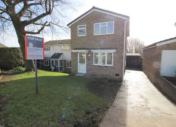 Thumbnail 3 bedroom detached house for sale in The Chase, Brackla, Bridgend County.
