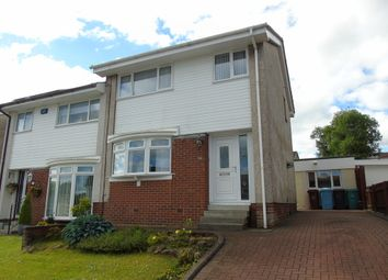 Thumbnail 3 bedroom semi-detached house for sale in Kirkton Crescent, Carnbroe, Coatbridge