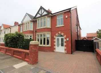 Thumbnail 4 bed semi-detached house for sale in Pierston Avenue, Bispham, Lancashire