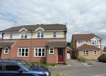 Thumbnail 3 bedroom semi-detached house to rent in Wakes Close, Bourne, Lincolnshire