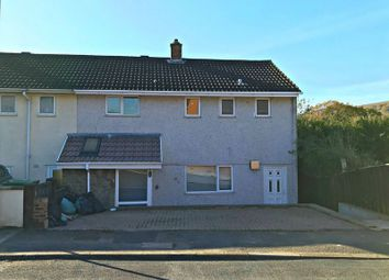 Thumbnail 3 bed end terrace house for sale in The Leas, Pontnewydd, Cwmbran