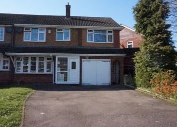 Thumbnail 4 bed semi-detached house for sale in Willmott Road, Four Oaks, Sutton Coldfield