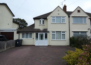 Thumbnail 3 bed semi-detached house for sale in Yardley Wood Road, Yardley Wood, Birmingham