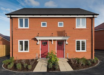 Thumbnail 3 bedroom semi-detached house for sale in The Avenue At Marham Park, Off Mildenhall Road, Fornham All Saints, Suffolk