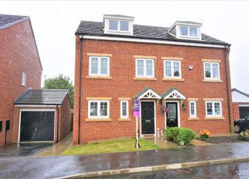 Thumbnail 3 bed town house for sale in Harton Court, South Shields