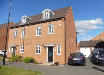 Thumbnail 4 bedroom town house for sale in Anglian Way, Coventry