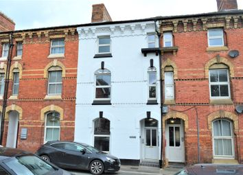 Thumbnail 1 bed flat to rent in Clifton Terrace, New Road, Newtown, Powys
