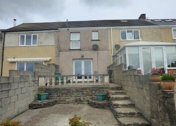 Thumbnail 3 bed terraced house for sale in Newall Road, Skewen, Neath .