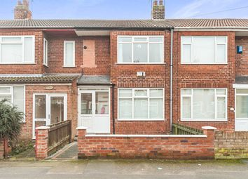 Thumbnail 3 bedroom terraced house for sale in Rosedale Avenue, Hull