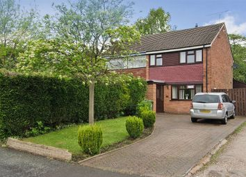 Thumbnail 3 bed semi-detached house for sale in Raven Close, Hednesford, Cannock