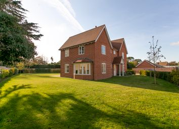 Thumbnail 4 bed detached house for sale in Main Road, Woolverstone