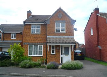 Thumbnail 3 bed detached house to rent in Harvey Close, Raunds, Wellingborough