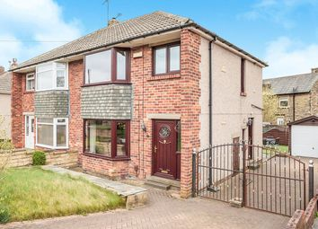 Thumbnail 3 bed semi-detached house for sale in Beverley Avenue, Wyke, Bradford, West Yorkshire