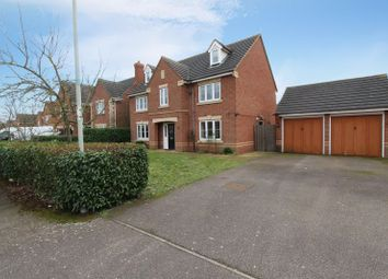 Thumbnail 4 bed detached house for sale in Bayham Close, Elstow