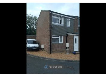 Thumbnail 1 bed semi-detached house to rent in Flecker Close, Thatcham
