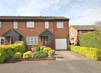 Thumbnail 4 bed end terrace house for sale in Hawkswell Close, Goldsworth Park, Woking, Surrey