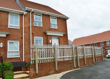 Thumbnail 3 bed end terrace house for sale in Godric Road, Newport
