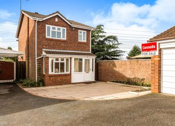 Thumbnail 3 bed detached house for sale in Holloway Drive, Wombourne, Wolverhampton
