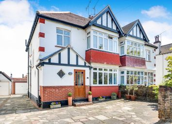 Thumbnail 4 bed semi-detached house for sale in St. Davids Drive, Leigh-On-Sea, Essex