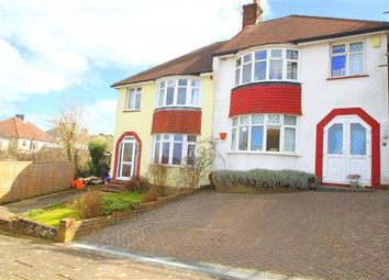 Thumbnail 3 bed property for sale in Mayfield Crescent, Brighton, East Sussex