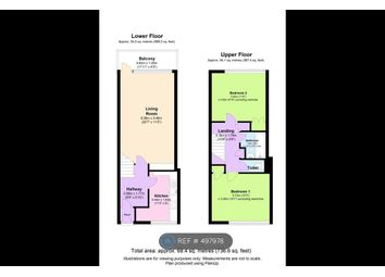 2 bed maisonette to rent in Gouldman House, London E1