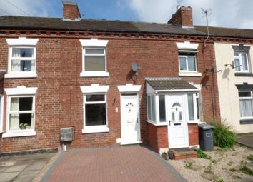 Thumbnail 3 bed terraced house to rent in Leicester Road, Measham, Swadlincote