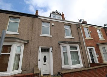 Thumbnail 4 bed terraced house for sale in Beaconsfield Street, Blyth