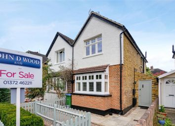 Thumbnail 2 bedroom semi-detached house for sale in Norfolk Road, Claygate, Esher, Surrey