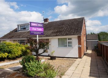 Thumbnail 1 bedroom semi-detached bungalow for sale in Hafren Road, Telford