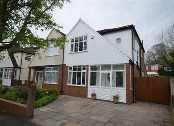 Thumbnail 3 bed semi-detached house for sale in Curtis Road, Heaton Mersey, Stockport, Greater Manchester