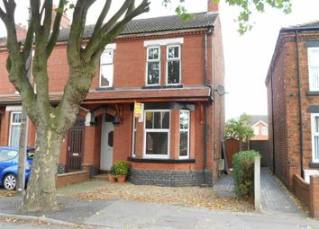 Thumbnail 3 bed semi-detached house for sale in North Street, Crewe, Cheshire