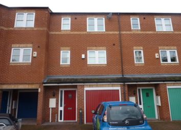 Thumbnail 3 bedroom town house to rent in Longford Street, Derby
