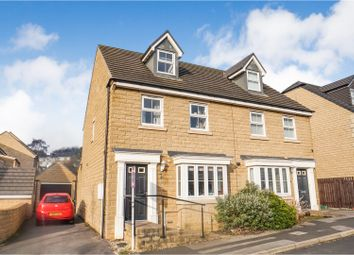 Thumbnail 3 bed semi-detached house for sale in Jilling Ing Park, Dewsbury
