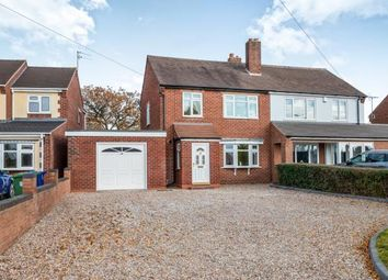Thumbnail 3 bed semi-detached house for sale in Longford Road, Cannock, Staffordshire