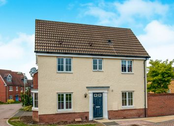 Thumbnail 3 bed link-detached house for sale in Nuthatch Close, Stowmarket
