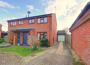 The Tyleshades, Tadburn, Romsey, Hampshire SO51. 3 bed semi-detached house for sale