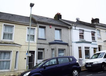 Thumbnail 3 bedroom terraced house for sale in West Hill Road, Mutley, Plymouth