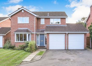 Thumbnail 4 bed detached house for sale in Wentworth Grove, Perton, Wolverhampton