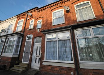 Thumbnail 3 bedroom terraced house for sale in Kitchener Road, Selly Park, Birmingham