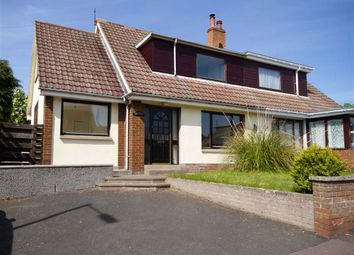 Thumbnail 4 bed semi-detached house for sale in Main Street, Chirnside, Berwickshire