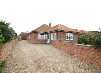 Thumbnail 3 bed detached bungalow for sale in Skeyton Road, North Walsham