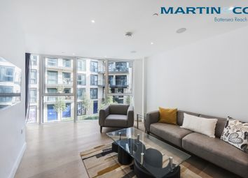Thumbnail 2 bedroom flat to rent in The Pinnacle, Battersea Reach