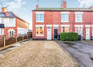 Thumbnail 3 bed end terrace house for sale in Leicester Road, Broughton Astley, Leicester